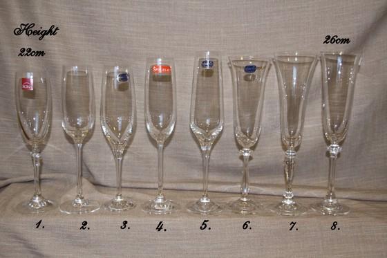 Nr2.Glāžu piedāvājums . Patreiz glāze nr.1,4,7un5 nav pieejama.