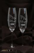 G57 Šampanieša glāzes Viņai un Viņam. 24 eur